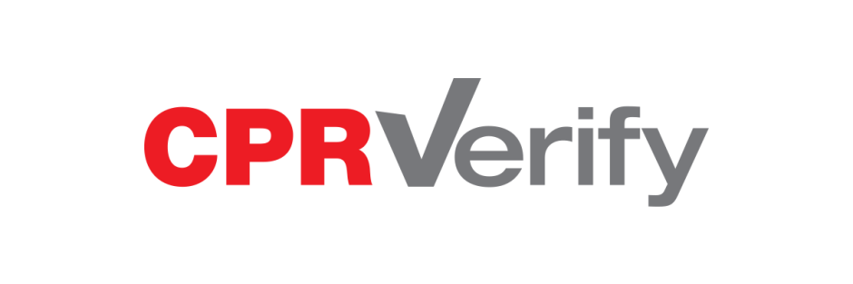 CPR Verify logo